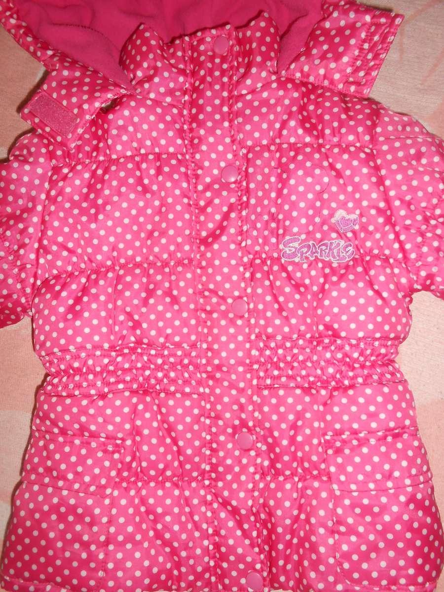 Демисезонная куртка на девочку Дисней на 5-6 лет(110-116р.)