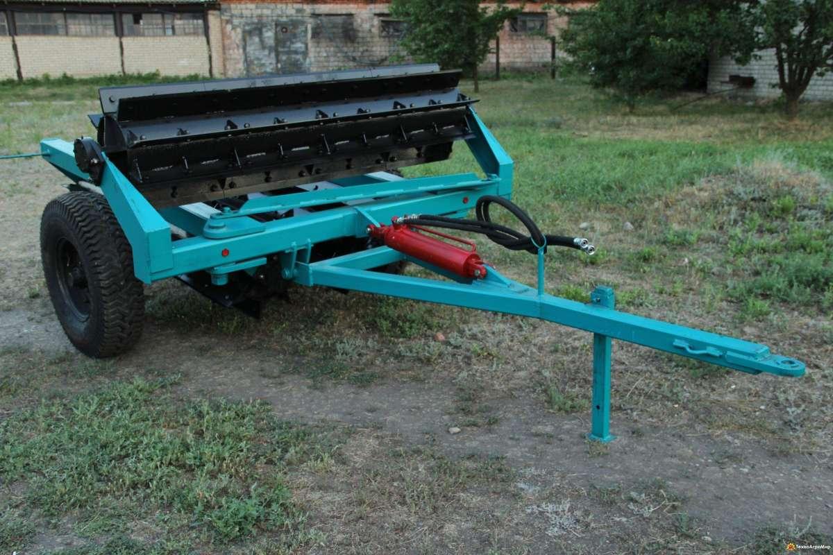 Каток - измельчитель рубящий водоналивной КП-6-560