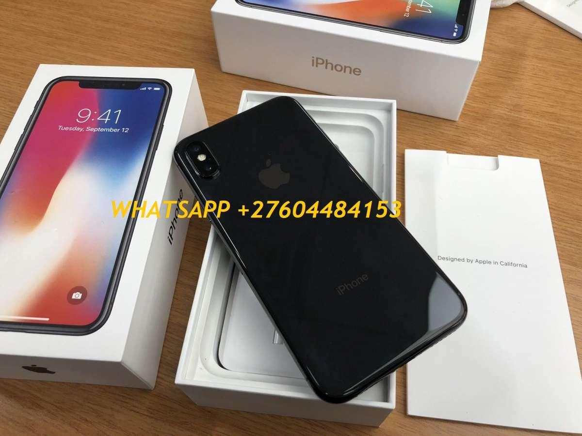 iPhone X 64GB $ 480 Apple iPhone X 256GB....$550 Samsung Galaxy S8