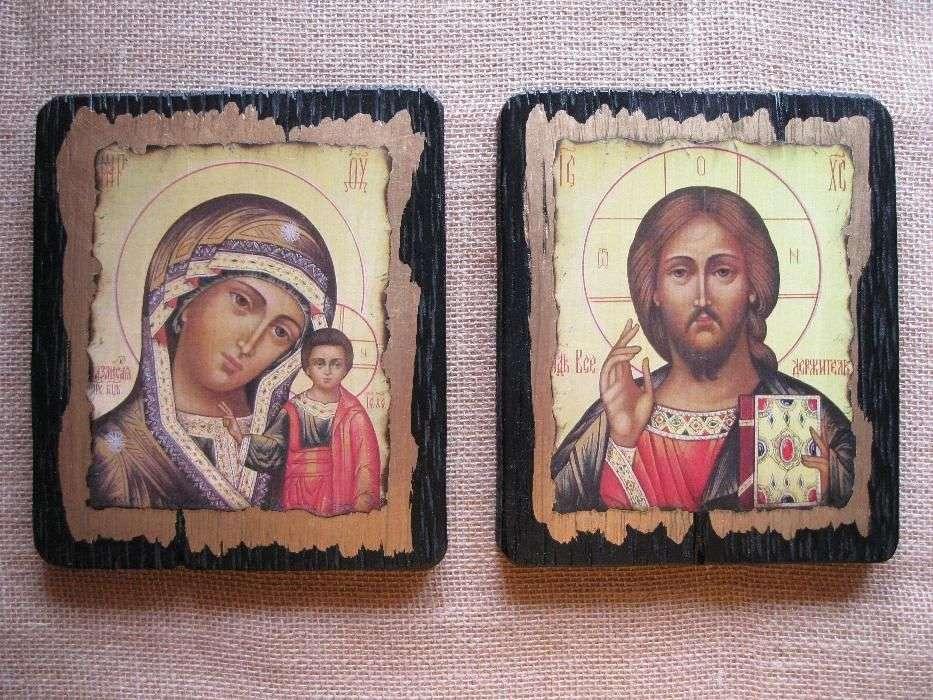 Венчальная Пара. Казанская Пр.Богородица и Спаситель