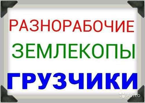 Предоставляем Разнорабочых-Грузчиков