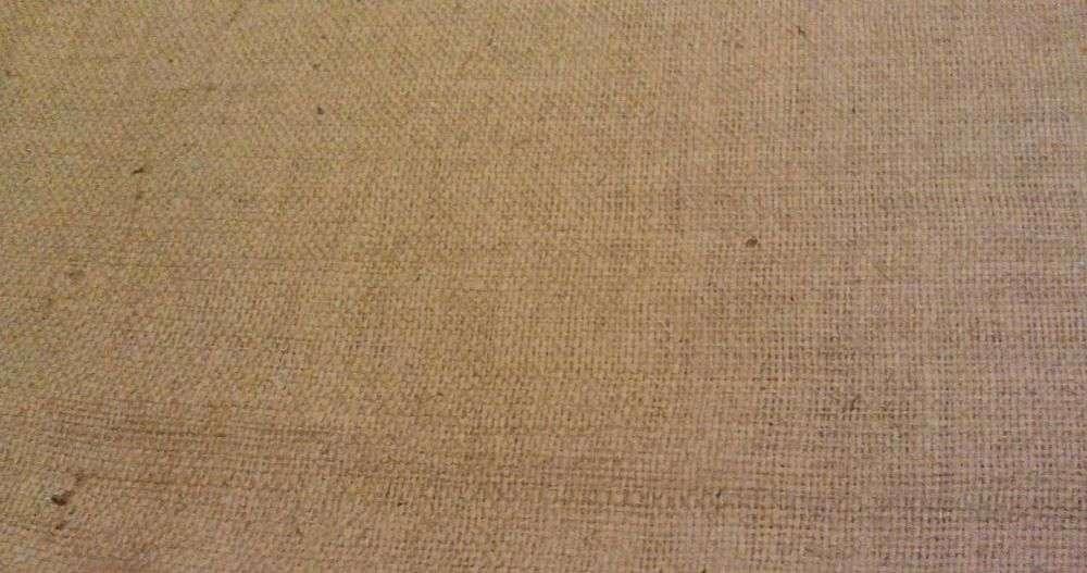 Мешковина разной плотности из джута