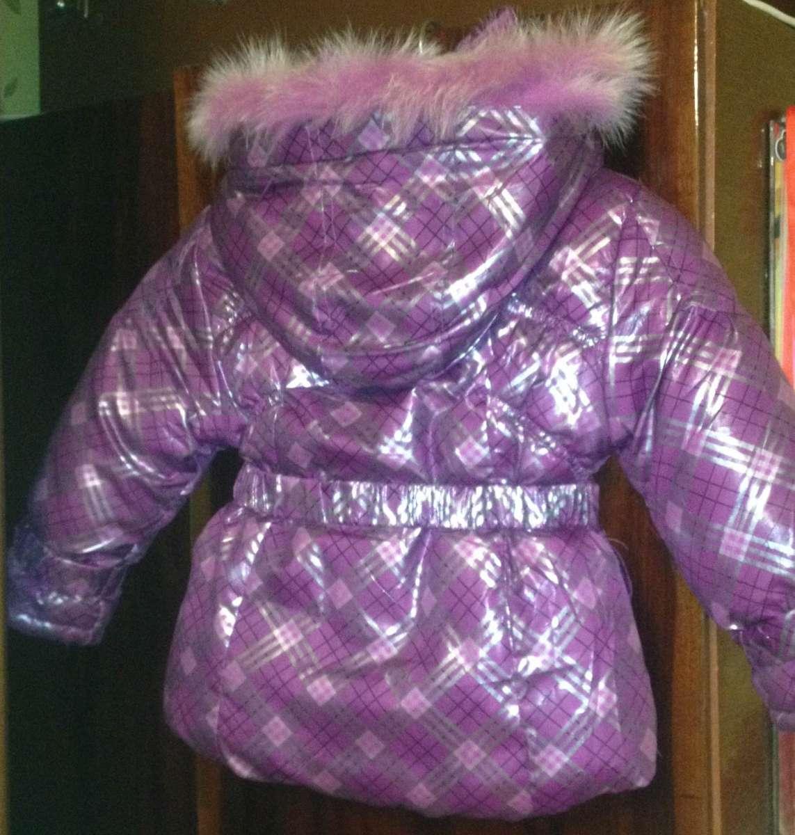 Куртка для дівчинки зима - весна - осінь