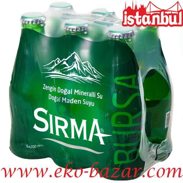 Вода минеральная газированная Sirma