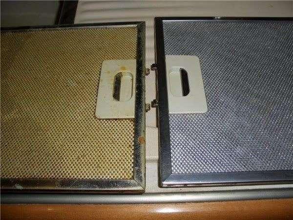 Мойка чистка алюминиевый фильтр вытяжки