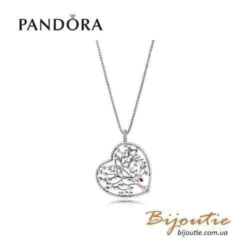 PANDORA подвеска на цепочке дерево любви ― 396582ENMX-75