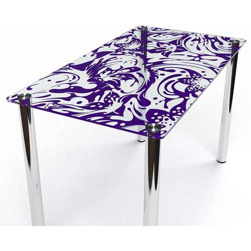 Стеклянный обеденный стол Весна