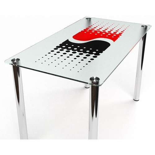 Стеклянный обеденный стол Противодействие