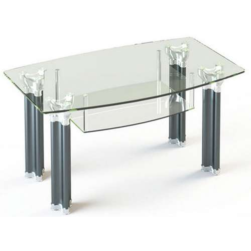 Стеклянный журнальный стол JTF 001 90х60
