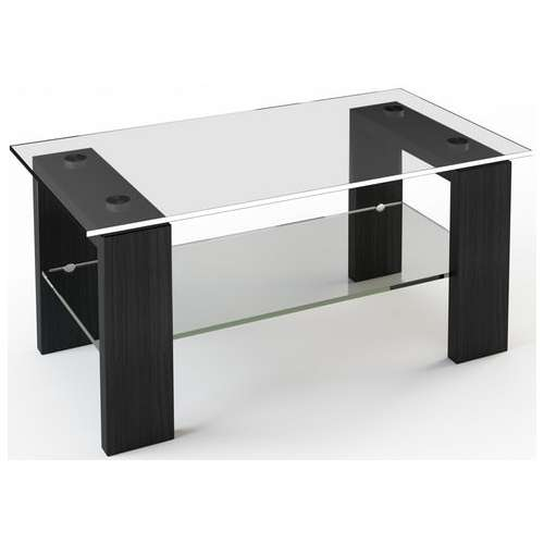 Стеклянный журнальный стол JTS 007 110х63