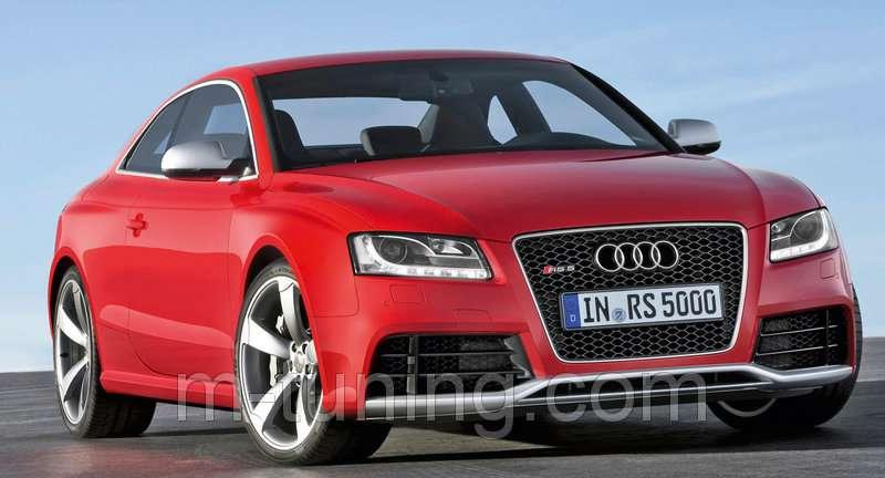 Передний бампер тюнинг обвес для Audi A5 дорестайл стиль RS5 Ауди А5