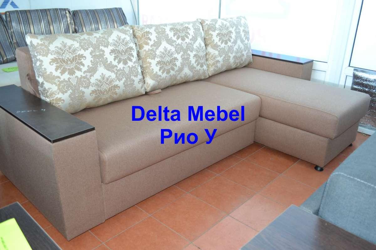 Угловой диван Рио от производителя Delta Mebel