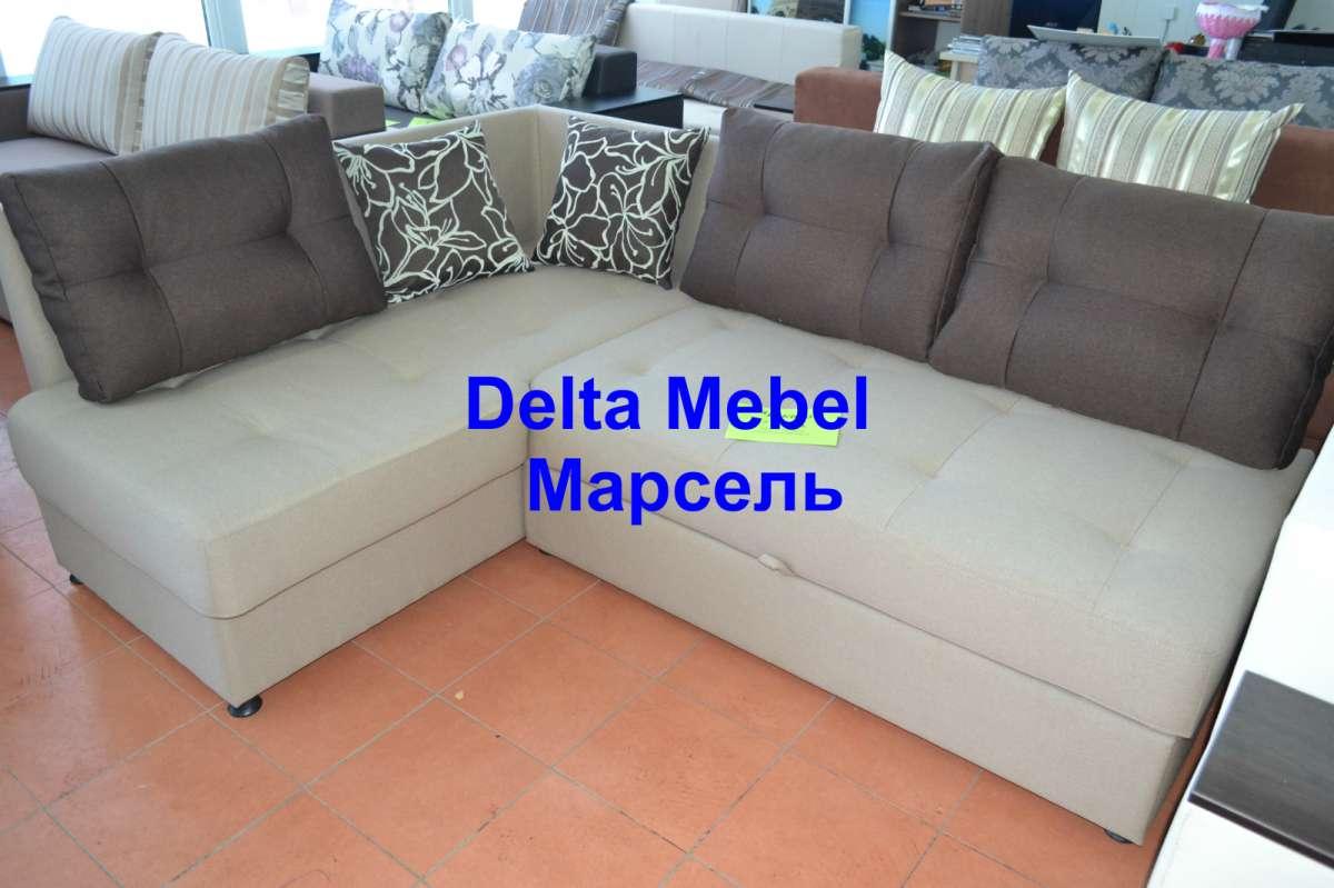 Угловой диван с механизмом трансформации