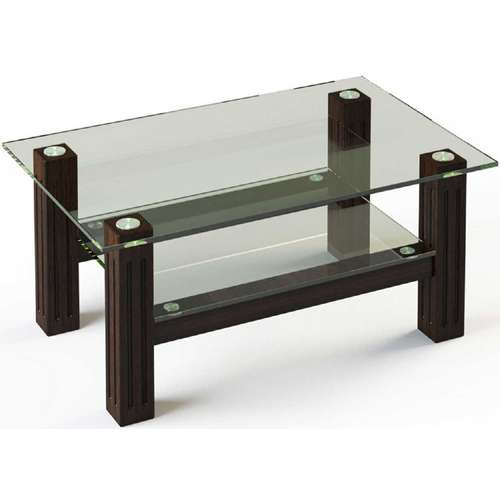 Стеклянный журнальный стол JTW 001 110х63