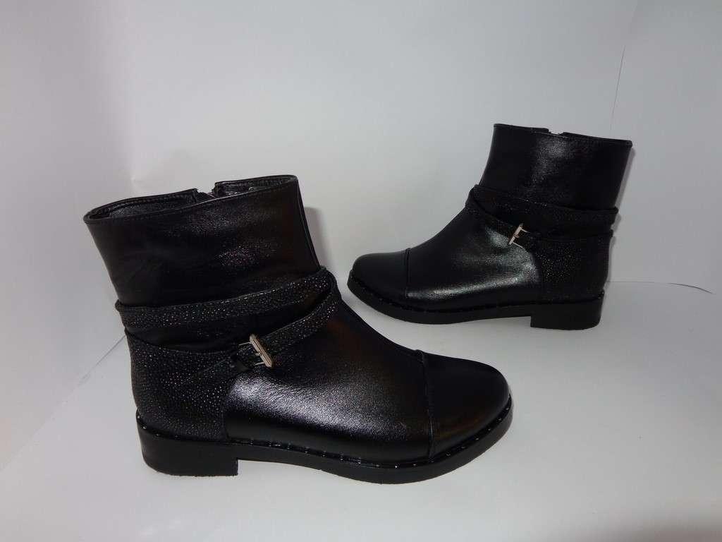 Кожаные демисезонные ботинки, TM Bistfor- Украина, возможна примерка