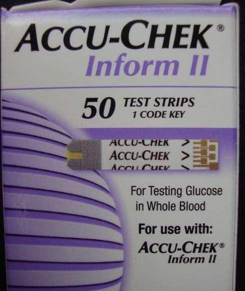 Купить тест-полоски для глюкометра Accu-Chek Inform II