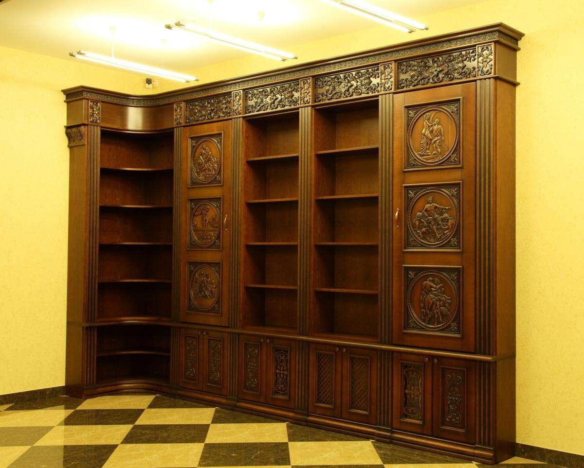 Шкаф Библиотека «Олимп»