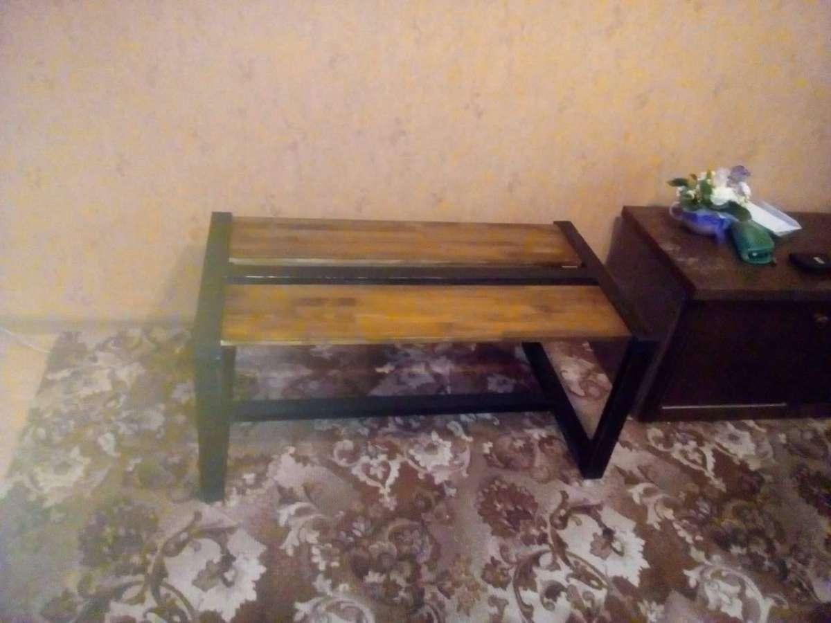 Столик журнальный(кофейный) в стиле Loft.мебель для кофеен