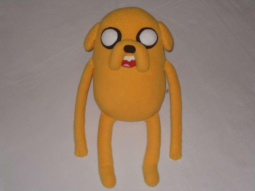 Мягкая игрушка-подушка Джейк Пес ручной работы.