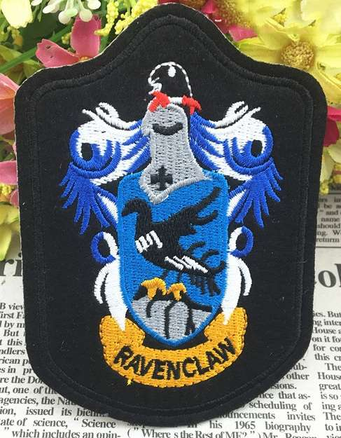 Клеевая нашивка с гербом Когтевран Рэйвенкло Хогвартс Гарри Поттер