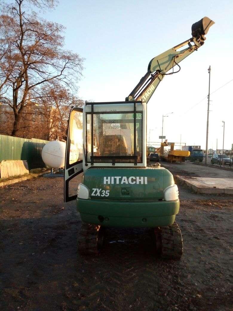 Мини Екскаватор Hitachi ZX35