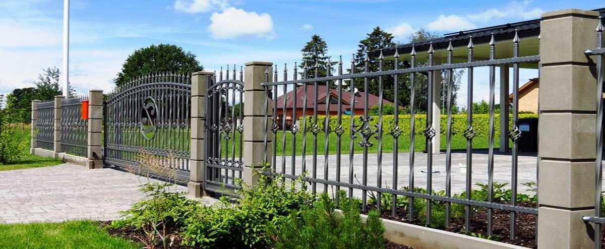 Заборы и ограждения, забор без фундамента, забор из профнастила.