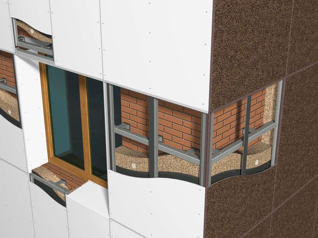 Фасадные подсистемы по доступным ценам