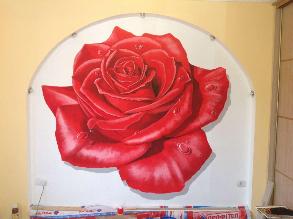 Роспись стен, 3D рисунки на асфальте