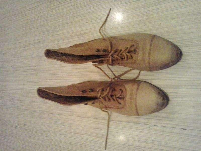 Женские ботинки 38 размер. осень \зима