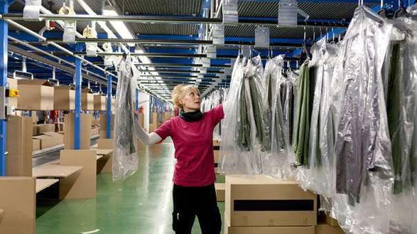 Упаковщики на склады модной одежды в Польше