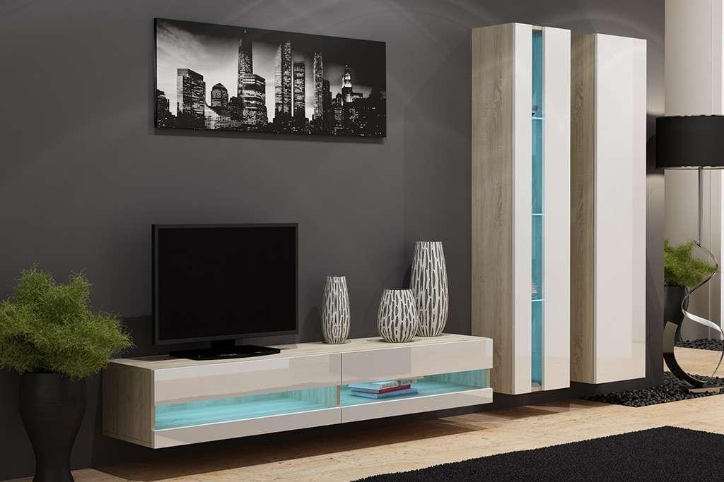 Мебель в гостиную (стенка в зал) VIGO NEW 5