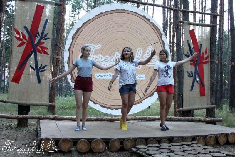 Дитячий наметовий табір «FORESTCLUB» під Києвом