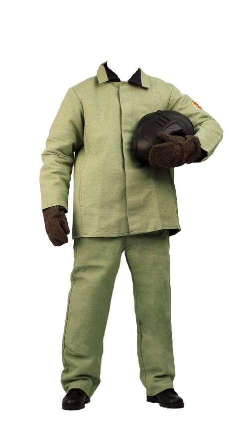 Брезентовый костюм сварщика, продажа спецобуви