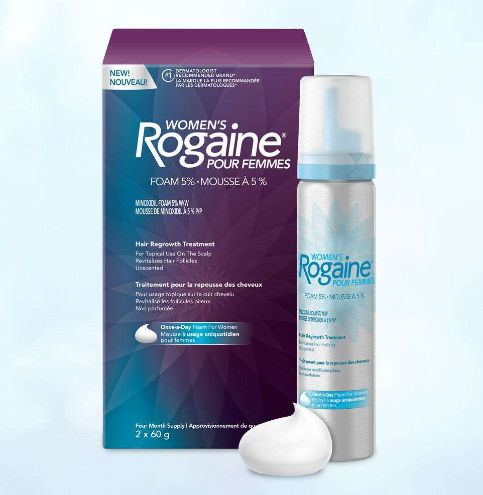 Пена Регейн 2% миноксидил (Women's Rogaine 2% Minoxidil) для женщин