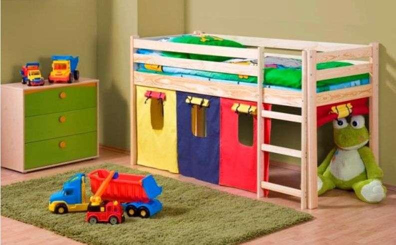 Детская кровать с матрасом NEO
