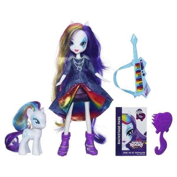 Кукла и Пони Рарити (Rarity) – Девушки Эквестрии