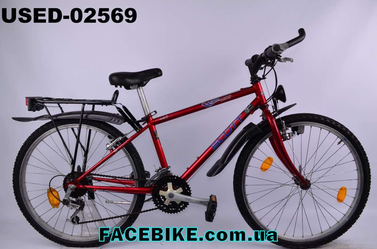 БУ Подростковый велосипед Scott - из Германии у нас Большой выбор