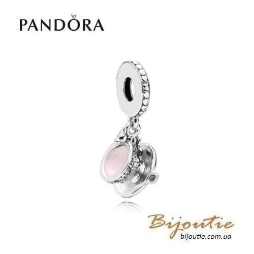 PANDORA шарм-подвеска чашечка - 797064EN160 Пандора оригинал