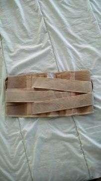 Корсет поясничный бандаж спинной ортез Rehband пояс спинной