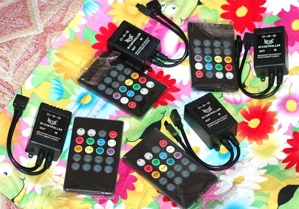 Светомузыка из RGB ленты - музыкальный пульт с контроллером