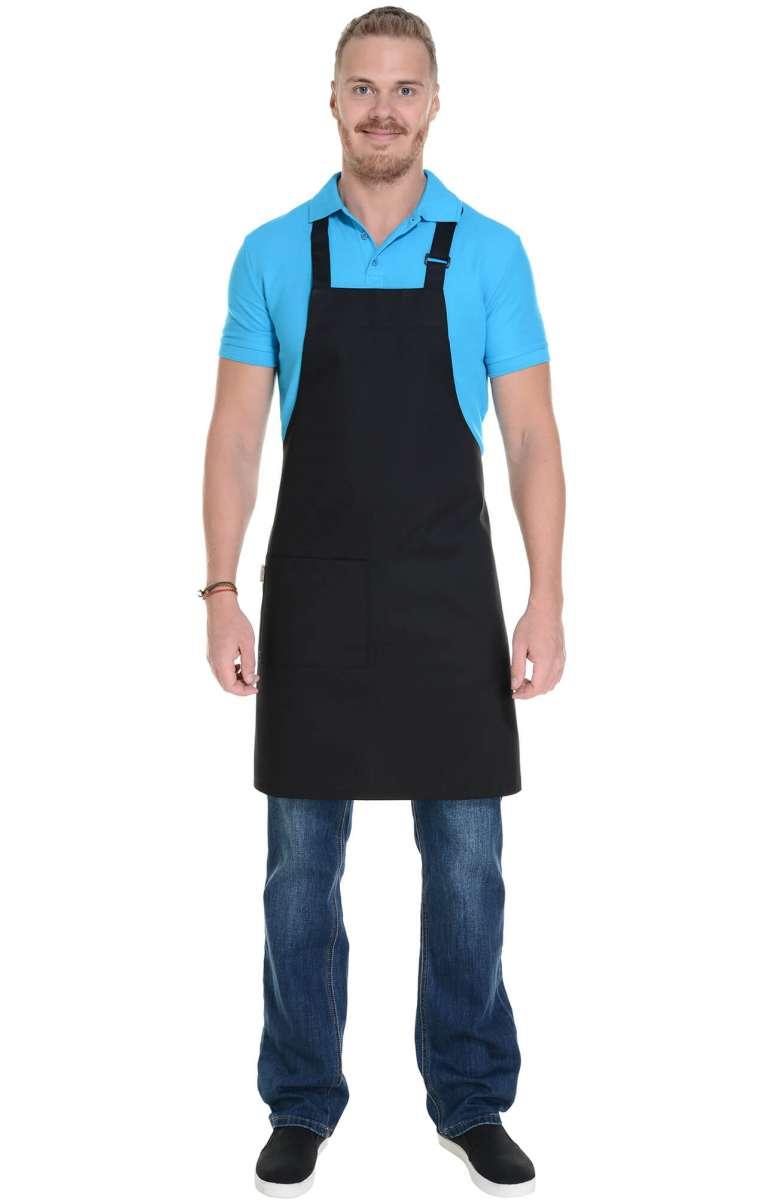 Черные коричневые фартуки для поваров, официантов, барменов
