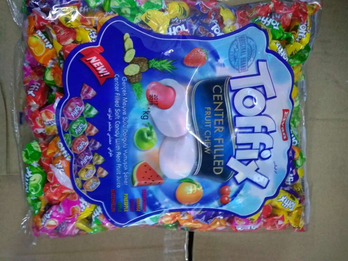конфеты жевательные toffix