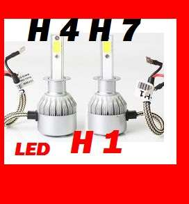 Светодиодные лед лампы C6 h4 h1 h7 12-24V