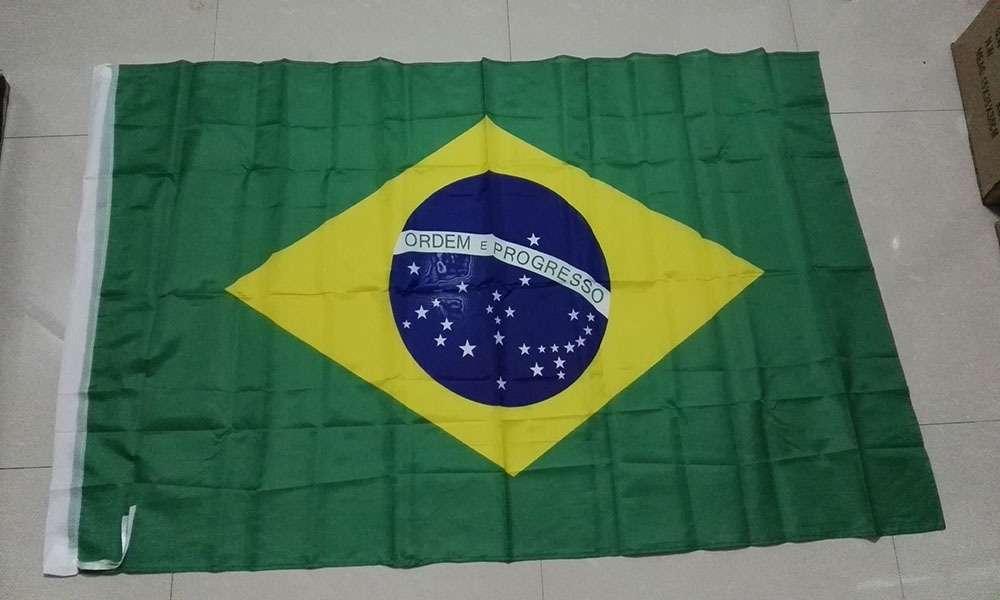 Флаг Бразилии 150см/90см (Новый, в упаковке)