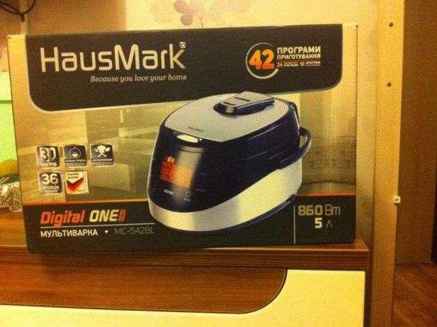 Продам Мультиварку HausMark MC-542BL