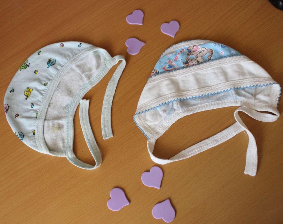 продам шапочки для новорожденных