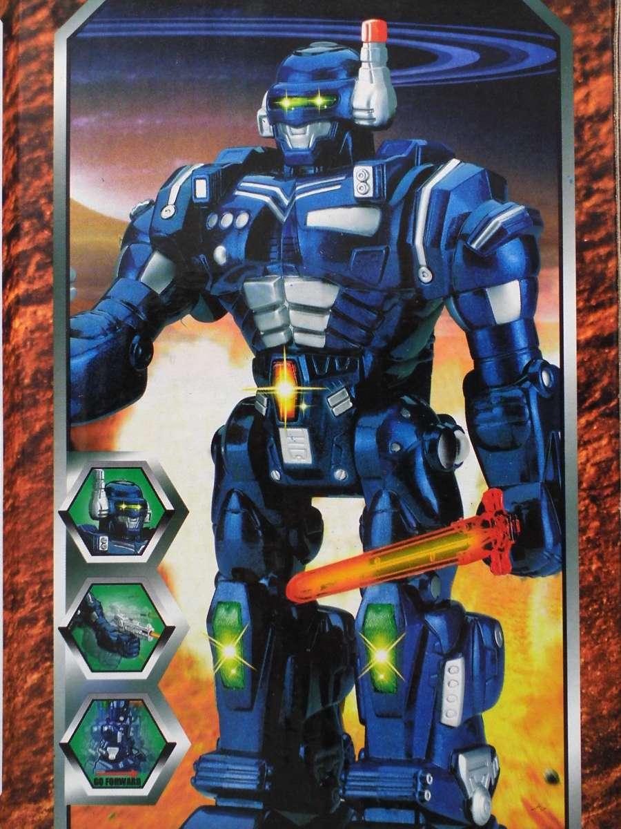 Робот ANDROID с мечем и бластером музыкальный на батарейках звук,свет