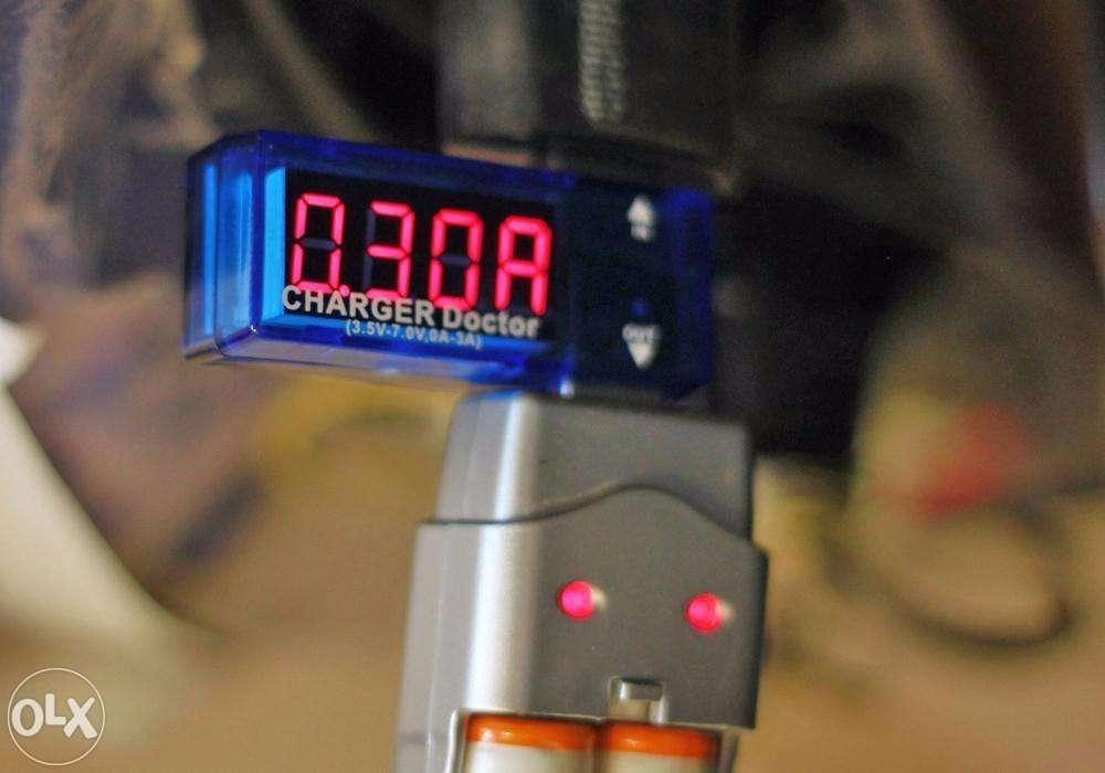 Цифровой USB вольтметр-амперметр, сканер ЮСБ, тестер ЮСБ