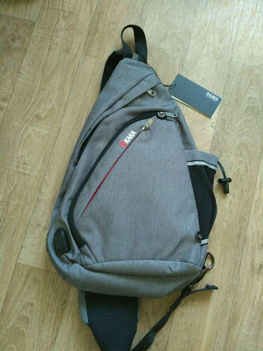7b97ae183827 Рюкзак- сумка нагрудная через одно плечо с USB ...: 960 грн - Мода і ...