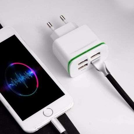 USB Зарядное устройство 4 Порта